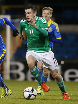 Shock: Michael Duffy had been expecting a place in the U21s