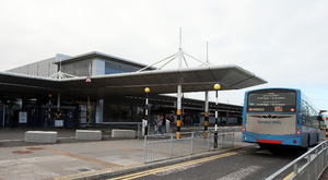 Belfast International Airport.