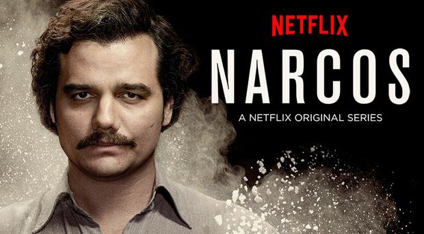 Narcos:Wagner Moura plays Colombian drugs kingpin Pablo Escobar in Netflix drama