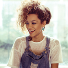 Raw talent: Izzy Bizu has been inspired by Ella and Amy