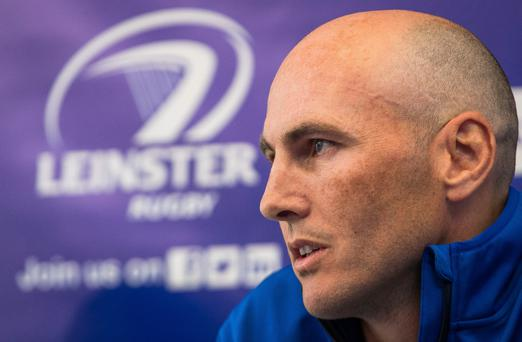 Potent mix: Leinster coach Girvan Dempsey is hoping his exciting blend of youth and experience click tonight