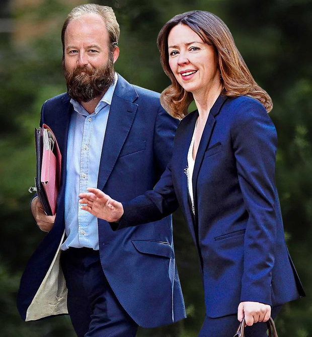 No nonsense: Theresa May's joint chiefs of staff Nick Timothy and Fiona Hill