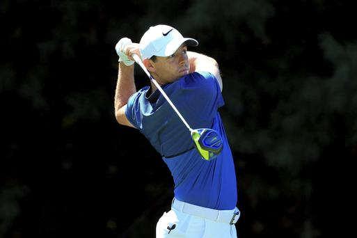 Disaster recovery: Rory McIlroy produced a fine comeback