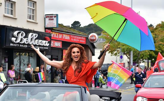 Newry Pride Parade. Northern Ireland Picture by Mark Winter