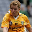 Hot shot: Mairead Cooper netted twice for Antrim against London