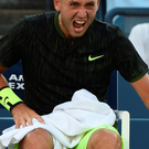 Bitter pill: Dan Evans gutted after coming within touching distance