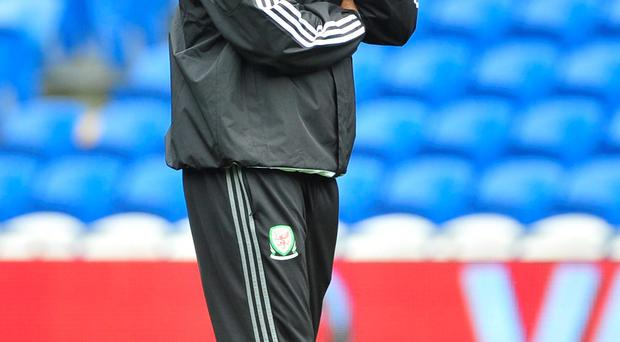 Proud boss: Chris Coleman starting out on another qualifying camp
