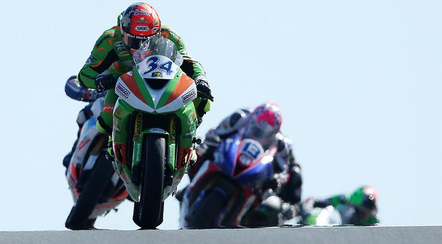 Out in front: Alastair Seeley has a record 17 wins at the North West 200