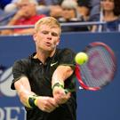 Net gains: Kyle Edmund reached the fourth round of a Grand Slam for the first time at the US Open, claiming some big scalps along the way