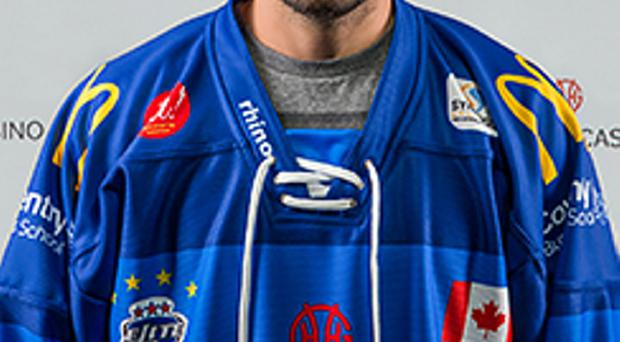 New face: Michael Quesnele has joined the Belfast Giants