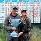 Rory McIlroy beaming with delight alongside fiancée Erica Stoll