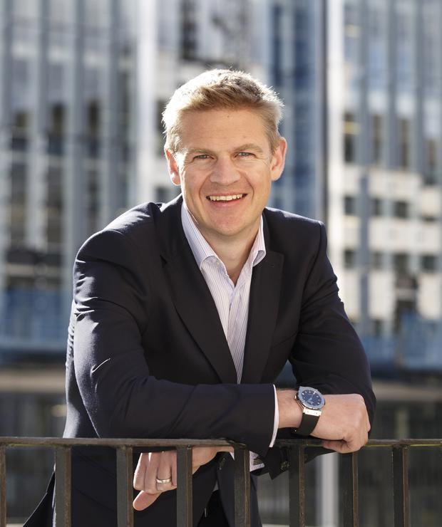 Nigel Eccles, co-founder and chief executive of the online fantasy sports company, FanDuel. Picture Robert Perry 24th Sept 2015