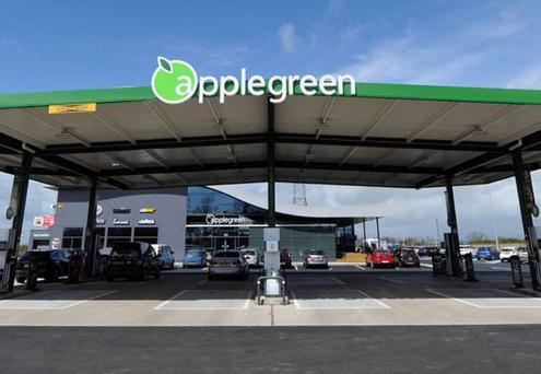 The Applegreen on the M2 motorway
