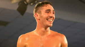On the up: Jamie Conlan is hoping to move towards a World title shot