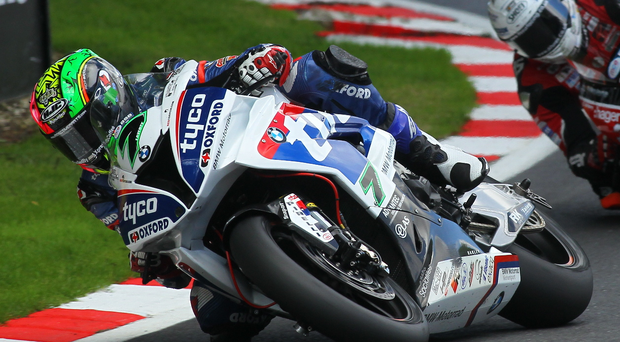 Big weekend: Contrasting expectations for local men Laverty (7) and rookie Irwin (2) this weekend at Oulton Park