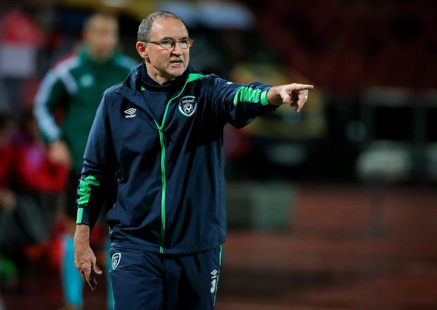 Slow process: Martin O'Neill has yet to sign a new deal with the Republic