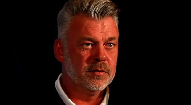 Prize fighter: Darren Clarke is doing all he can to clinch the Ryder Cup