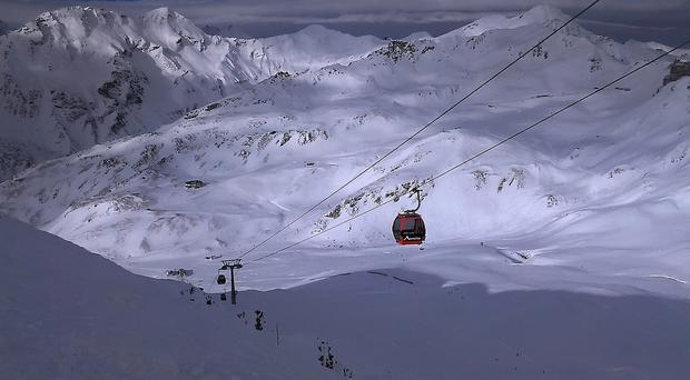 Passengers have been stuck in French Alps cable car for about two hours (File photo)
