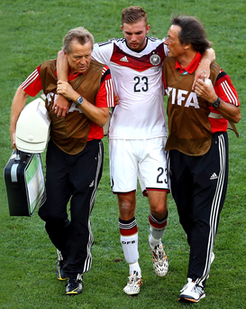 Christoph Kramer, who can't remember helping Germany win the World Cup