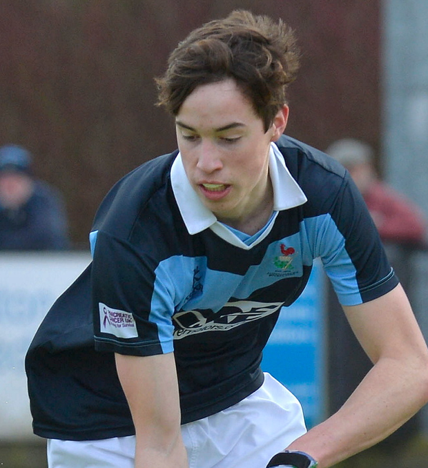 Leading the way: Sean Murray is in Steven Arbuthnot's squad
