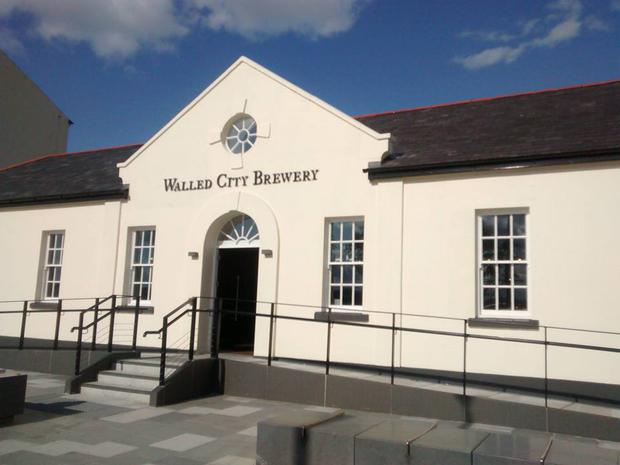 The Walled City Brewery and restaurant has opened in Ebrington Square in 2015.
