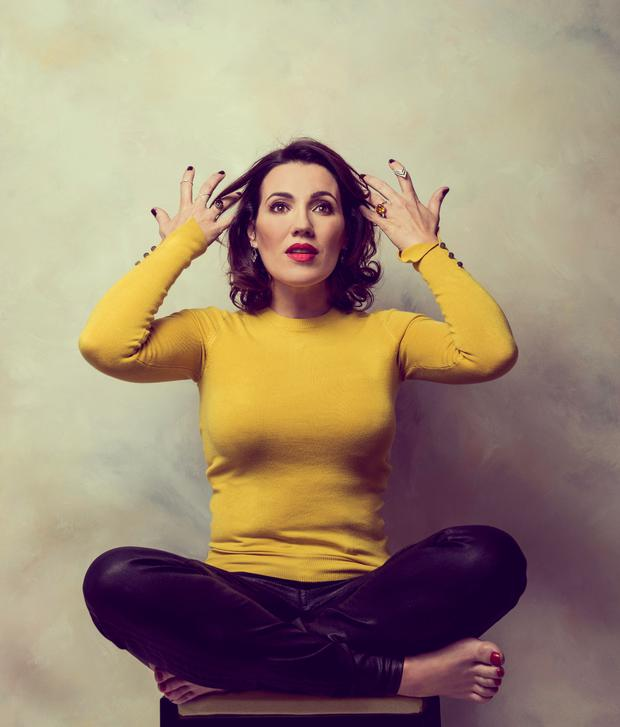 Stand-up success: actress and comedian Wendy Wason