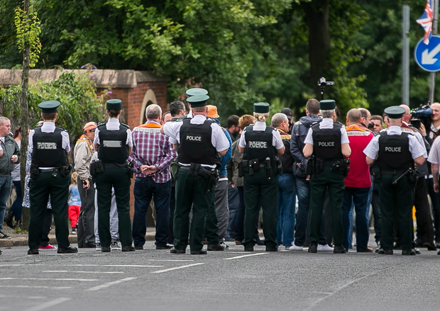 The Twaddell stand-off has so far cost police around £21m