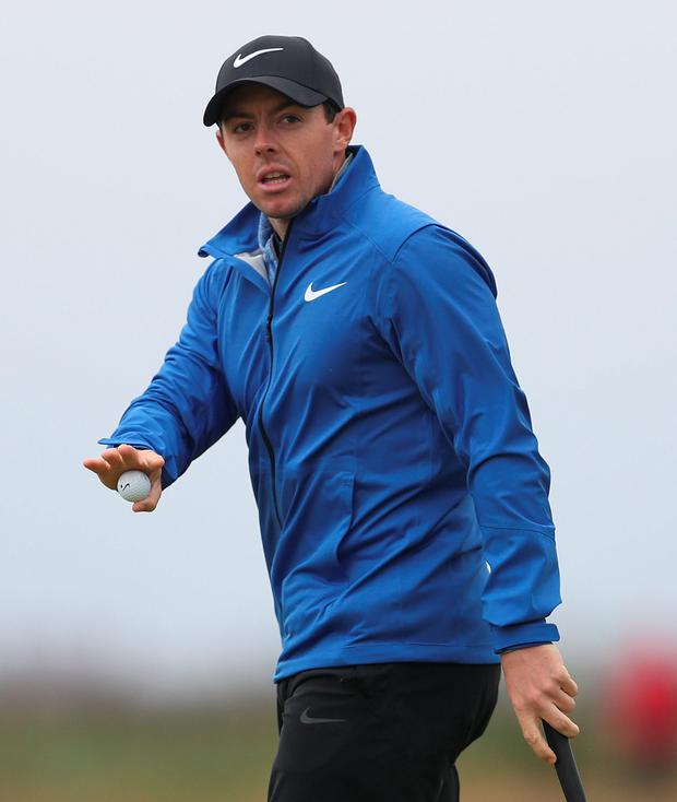 Rory McIlroy finished the BMW Championship with a final round 72