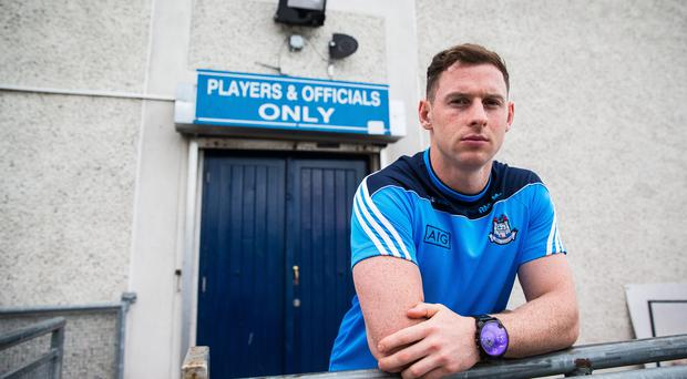 Giving back: Philly McMahon, set for his third All-Ireland final with Dublin, is aiming to change the stigma in the deprived area he grew up in
