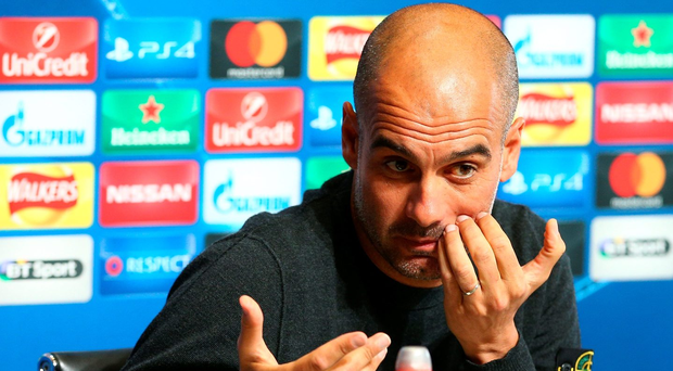 Aiming high: Pep Guardiola says English sides can challenge on two fronts