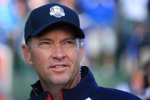 One more call: US Ryder Cup captain Davis Love III