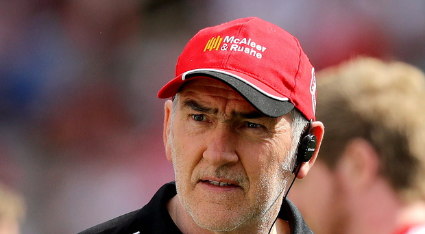 In limbo: Tyrone boss Mickey Harte