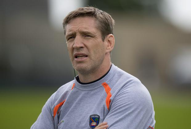 In charge: Kieran McGeeney