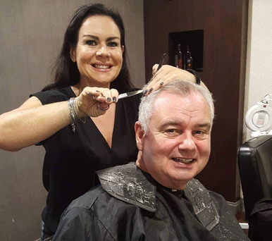 Brenda with her friend Eamonn Holmes