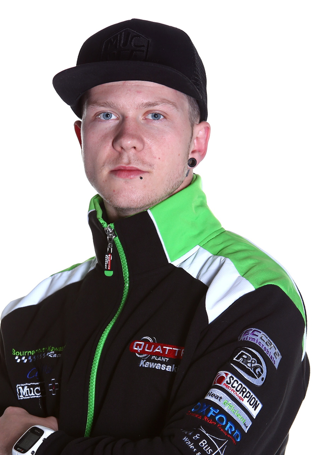 Injured: Supersport rider Andy Reid
