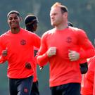Just for starters: Marcus Rashford will be in the United side for the clash in Rotterdam with captain Wayne Rooney being rested