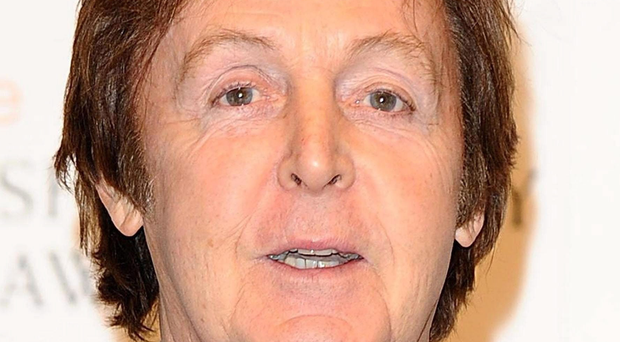 Admission: Paul McCartney