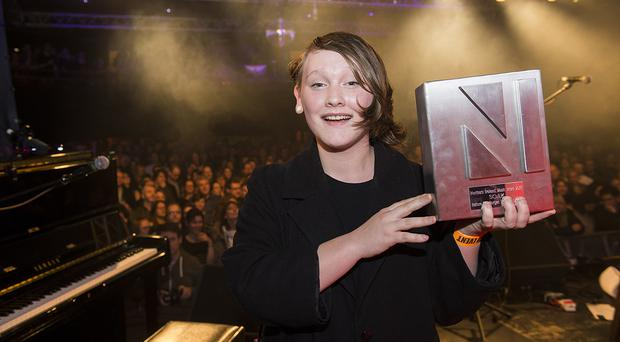 Derry artist SOAK who won the award in 2015.