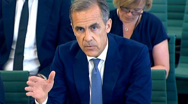 Bank of England governor Mark Carney said MPC action had cushioned the Brexit blow
