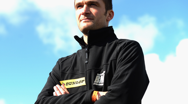 Struck out: Turkington must start from the back of the Silverstone grid