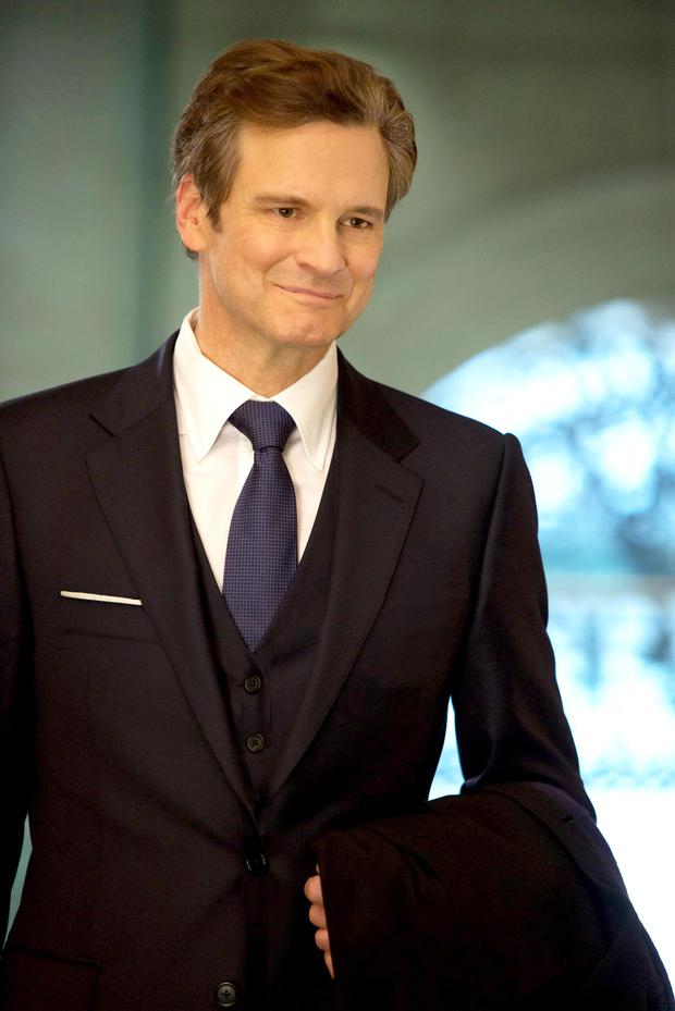 Old hand: Colin Firth