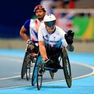Sad end: Britain's six-time Paralympic gold medallist David Weir will retire from the track after Rio 2016