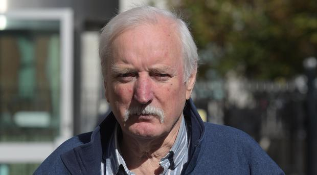 Ivor Bell leaves Laganside Court on Friday, The Veteran republican Ivor Bell is due to stand trial for the involvement in the 1972 murder of mother-of-10 Jean McConville. Picture Pacemaker