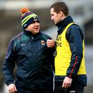 At the helm: Stephen Rochford and Tony McEntee will lead Mayo into the All-Ireland final against Dublin