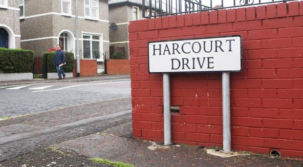 The incident took place shortly after 7pm on Saturday night in the Harcourt Drive area of the city. PICTURE MATT BOHILL PACEMAKER PRESS