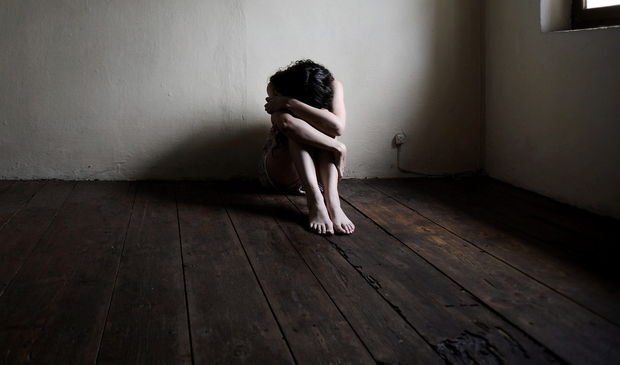 Police have investigated more than 700 child rapes in Northern Ireland in the last three years. Stock image. Picture posed by model