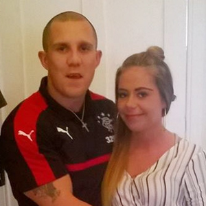 Jonathan Adair taken the day before his death of an accidental overdose. His girlfriend Jasmine is in the pic