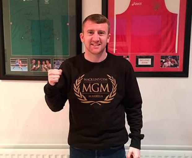 Paddy Barnes is hoping to hold his first professional fight in Belfast.