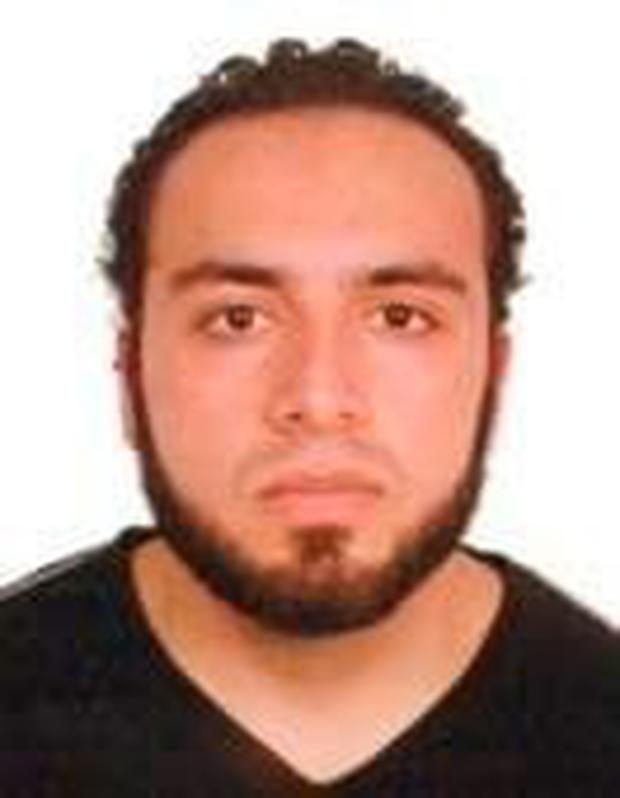 In this handout provided by the Federal Bureau of Investigation, Ahmad Khan Rahami poses for a mug shot photo. Rahami is a 28-year-old United States citizen of Afghan descent born on January 23, 1988, in Afghanistan. (Photo by FBI via Getty Images)