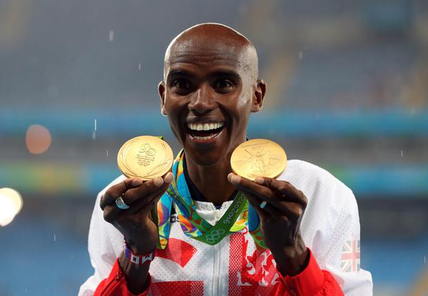 Mo Farah has shrugged off the leaking of his personal medical records by Russian hackers
